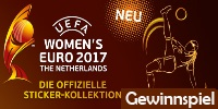 Panini UEFA WOMEN´S EURO 2017™ Official Sticker Collection