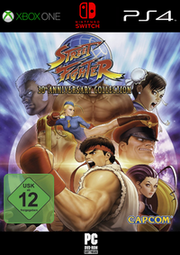 Splashgames: Street Fighter 30th Anniversary Collection