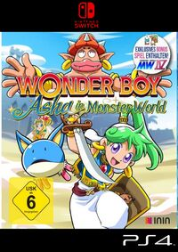 Splashgames: Wonder Boy: Asha in Monster World